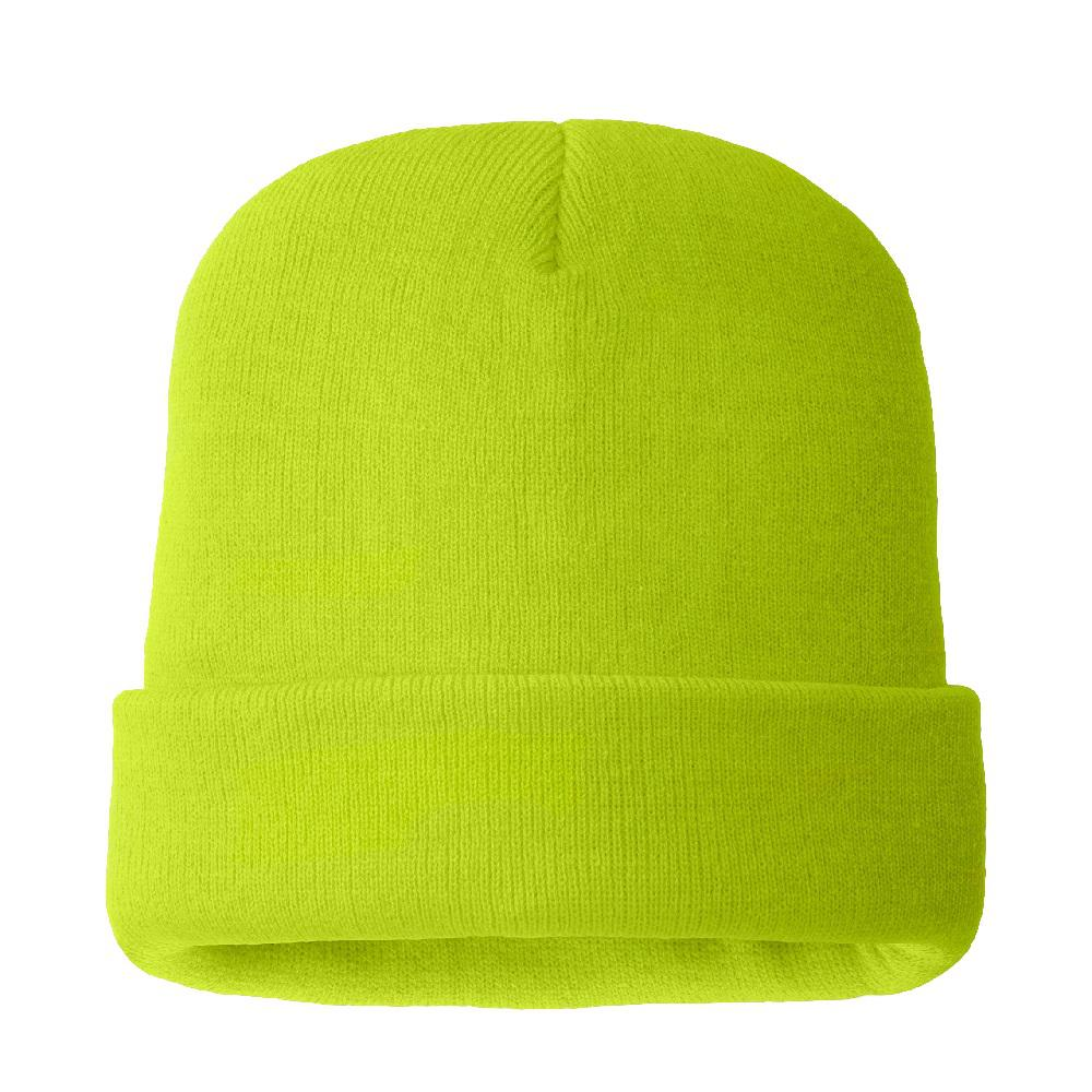 a776ed2d8e8f2d HANDS ON Men's 100% Acrylic Hi Viz Green Color Hat 40 g 3M Thinsulate Lined