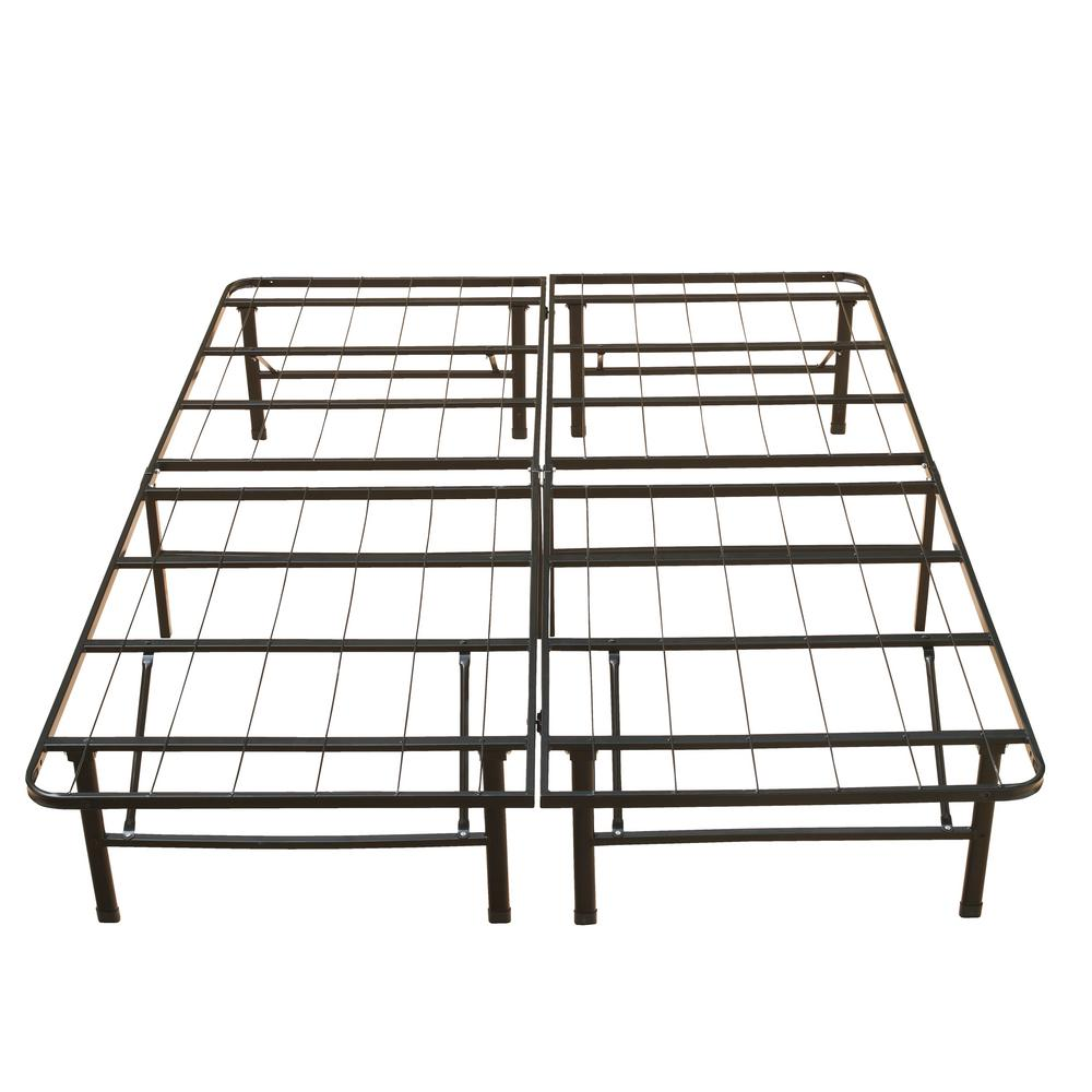 9fadf91eaaf Rest Rite 18 in. Queen Metal Platform Bed Frame-HDBB441QN - The Home ...