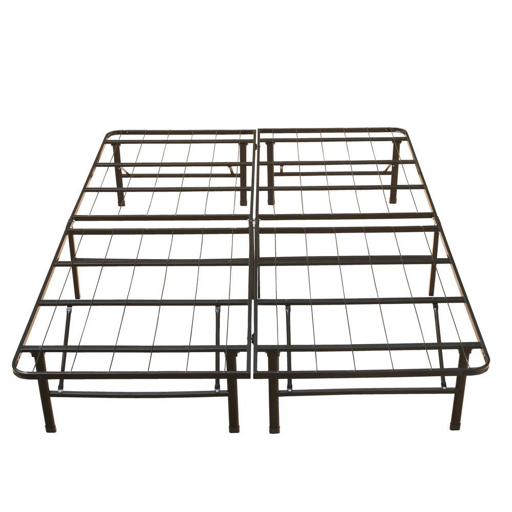 18 in. Queen Metal Platform Bed Frame
