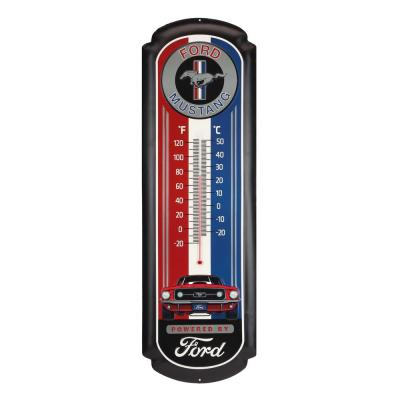 Ford Mustang Oversized Thermometer Decorative Sign