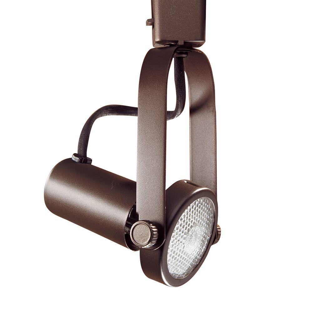Par 20 Oil-Rubbed Bronze Gimbal Ring Track Lighting Fixture