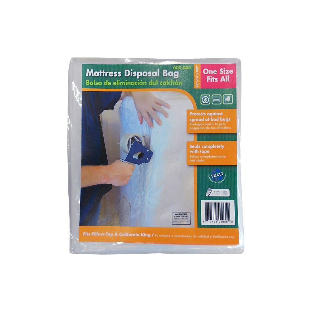 Plastic Wrap With Zipper For Queen Bed
