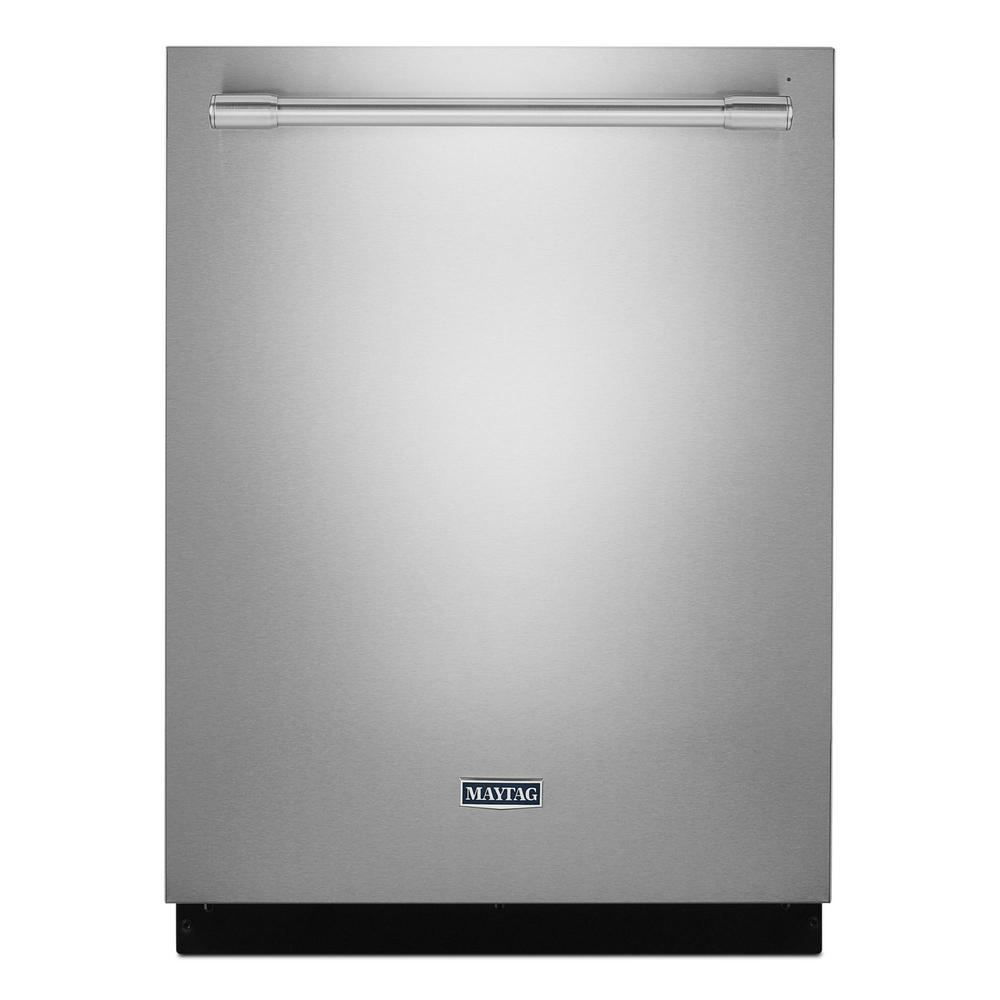 Maytag Top Control Built-In Tall Tub Dishwasher in Fingerprint Resistant Stainless Steel, 47 dBA