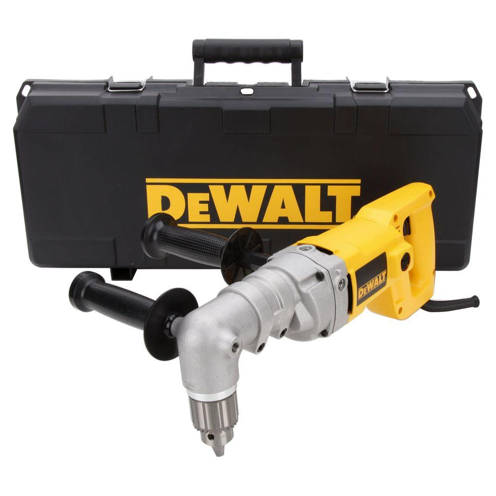DEWALT 7 Amp 1/2 in. (13 mm) Right Angle Drill Kit