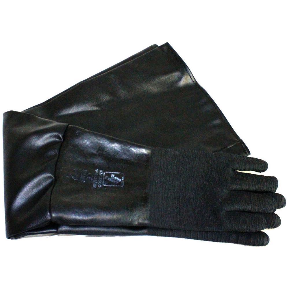 Abrasive Blaster Premium Lined Blast Gloves