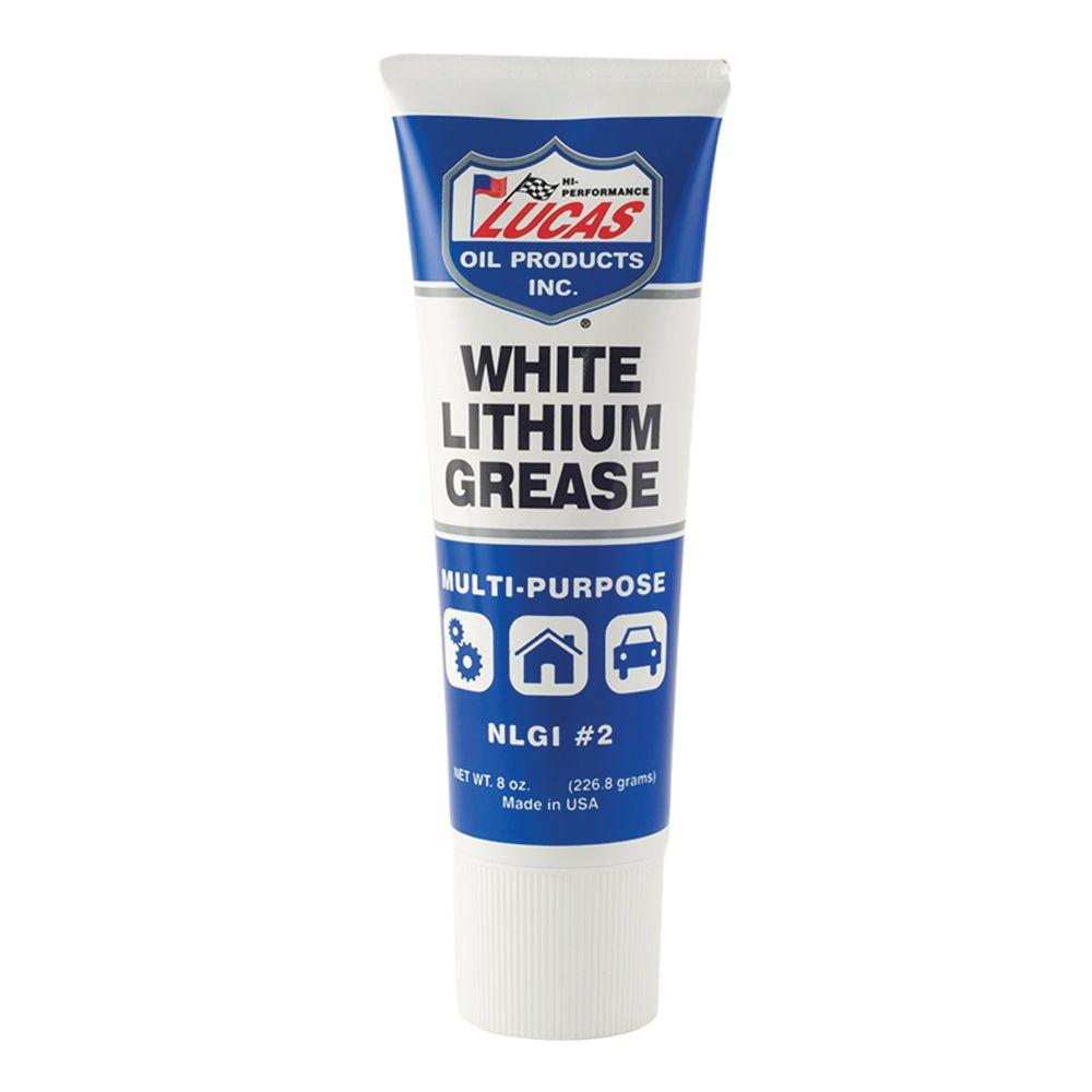 Lucas Oil 8 oz. Lithium Grease in White