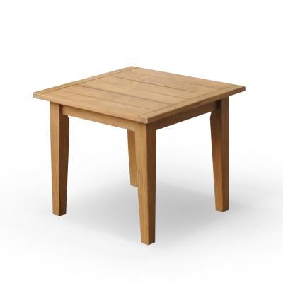 Andrea Teak Square Wood Outdoor Side Table