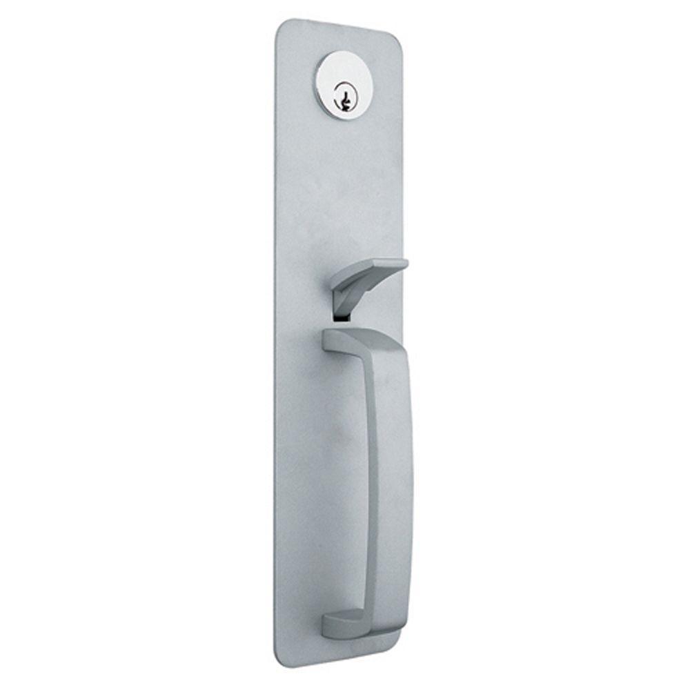 Global Door Controls Aluminum Keyed Entry Thumbpiece Handle Exit Device Trim  sc 1 st  Home Depot & Global Door Controls Aluminum Keyed Entry Thumbpiece Handle Exit ...