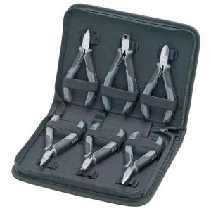 Click here to buy KNIPEX Electronic Pliers Set (6-Piece) by KNIPEX.