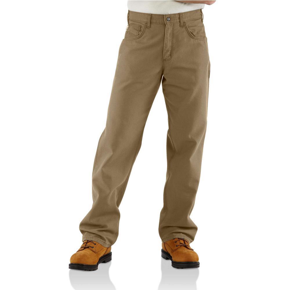 discount shop hottest sale buy popular Carhartt Men's 34 in. x 32 in. Golden Khaki FR Cargo Pant