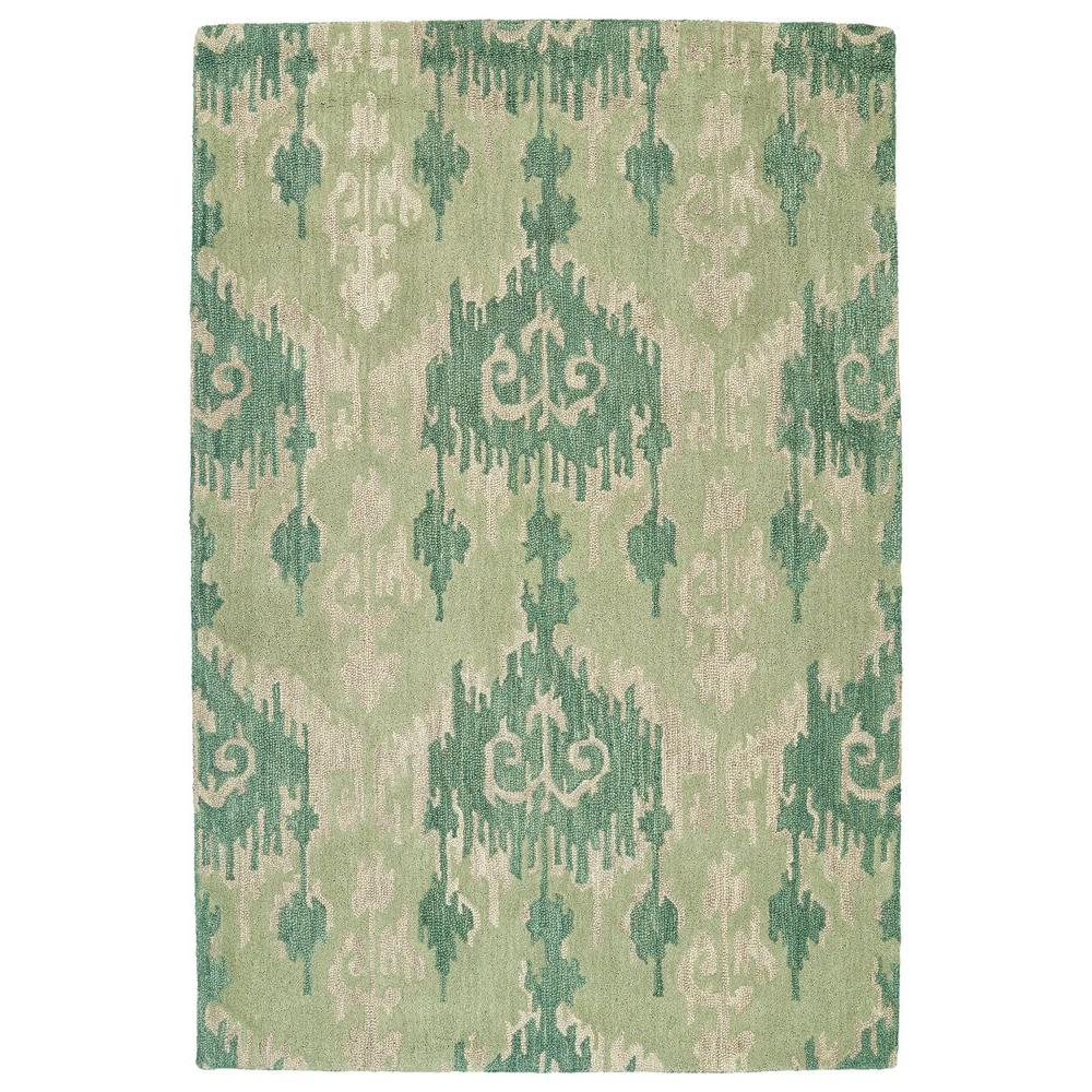 Casual Seafoam 7 ft. 6 in. x 9 ft. Area Rug