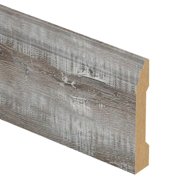 Barton Oak/Canmar 9/16 in. Thick x 3-1/4 in. Wide x 94 in. Length Laminate Base Molding