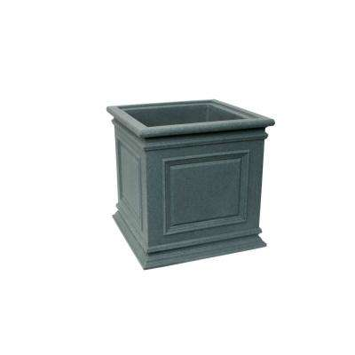 Covington 20 in. Charcoalstone Self-Watering Planter