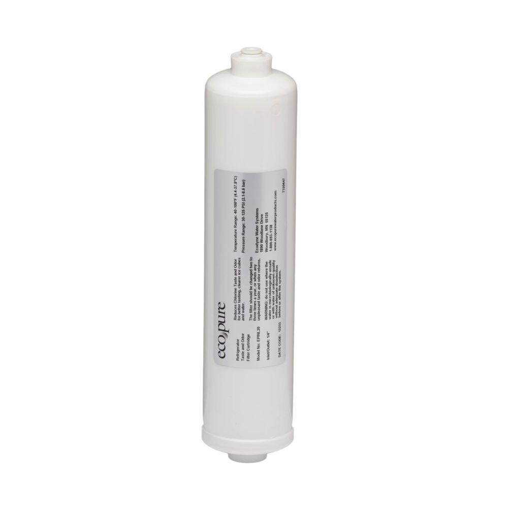 EcoPure Deluxe Refrigerator Water Filter