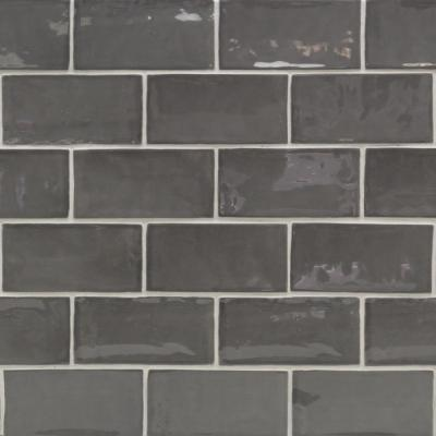 Catalina Driftwood 3 in. x 6 in. x 8 mm Polished Ceramic Subway Wall Tile (44-pieces/ 5.38 sq. ft. /case)
