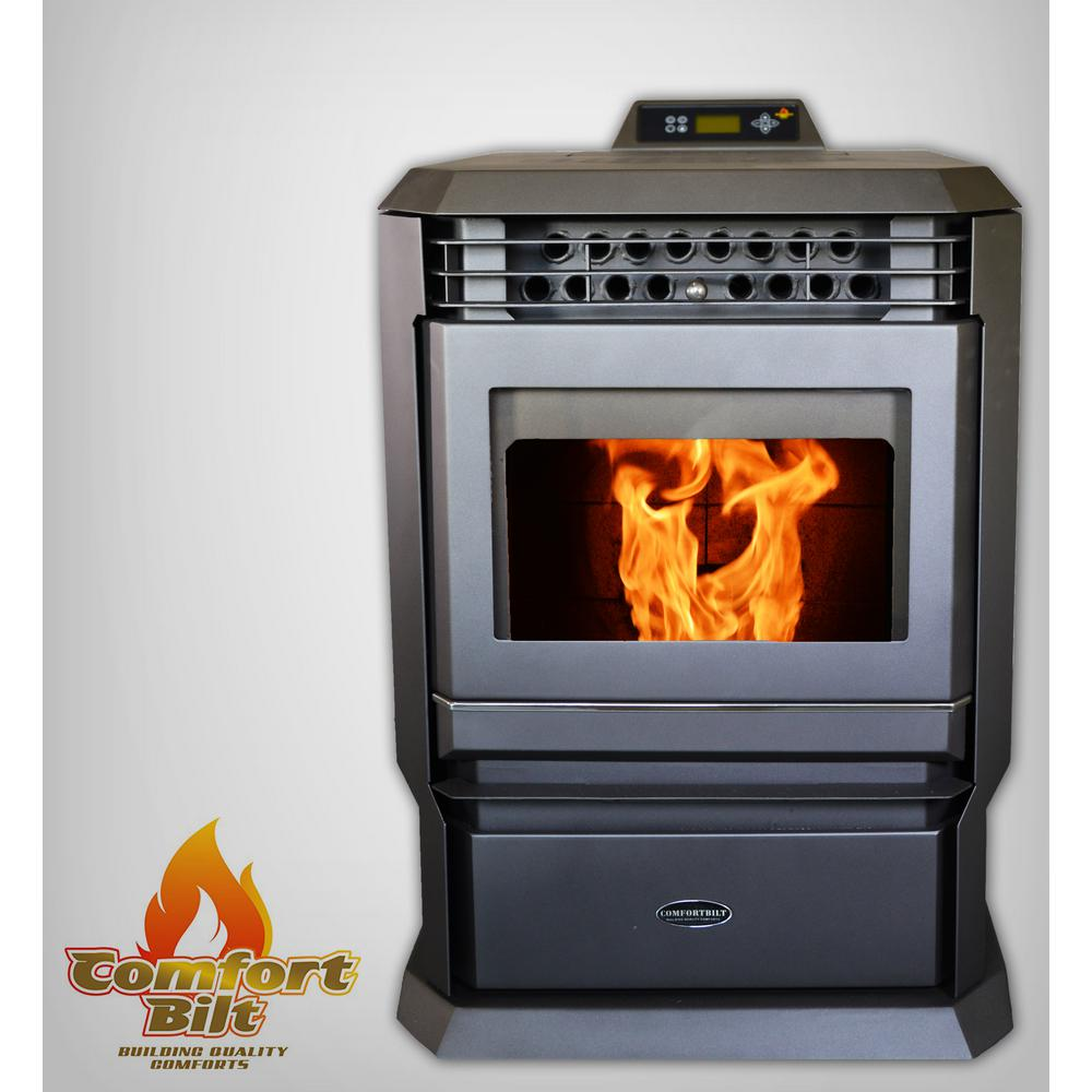 3,000 sq. ft. EPA Certified Pellet Stove with Programmable Thermostat