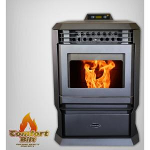 ComfortBilt 3,000 sq. ft. EPA Certified Pellet Stove with Programmable Thermostat by ComfortBilt