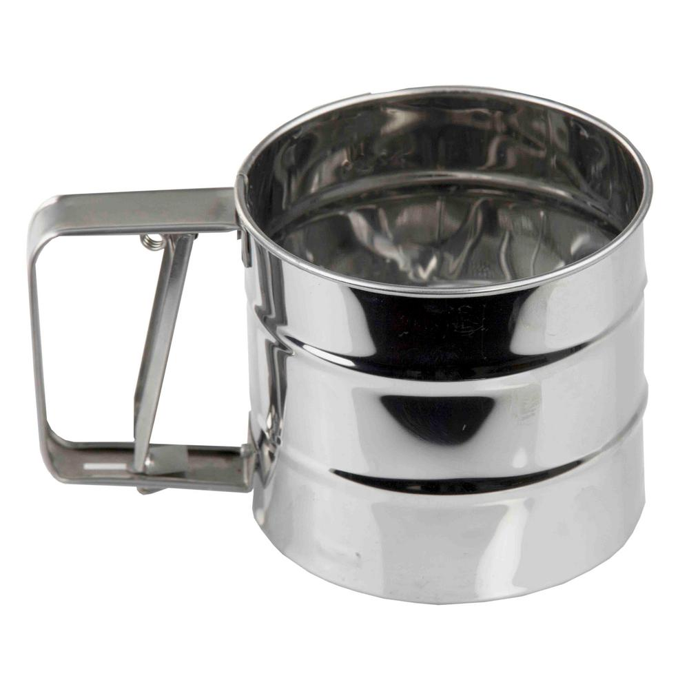 Home Basics Stainless Steel Flour Sifter Kt44292 The