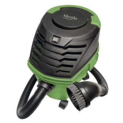 2.5 Gal. 7.0 Amp 65 CFM Ultra-Portable Wheeled Multi-Cyclone Wet/Dry Vacuum with Included Accessory Kit