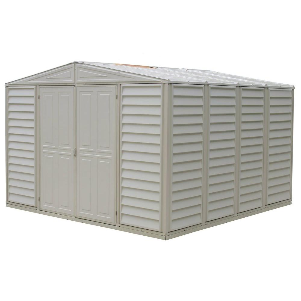 bench deck outdoor box shed garden tool rubbermaid storage vinyl sheds small