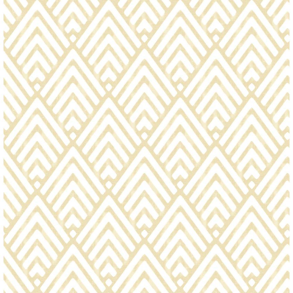Vertex Gold Diamond Geometric Wallpaper Sample