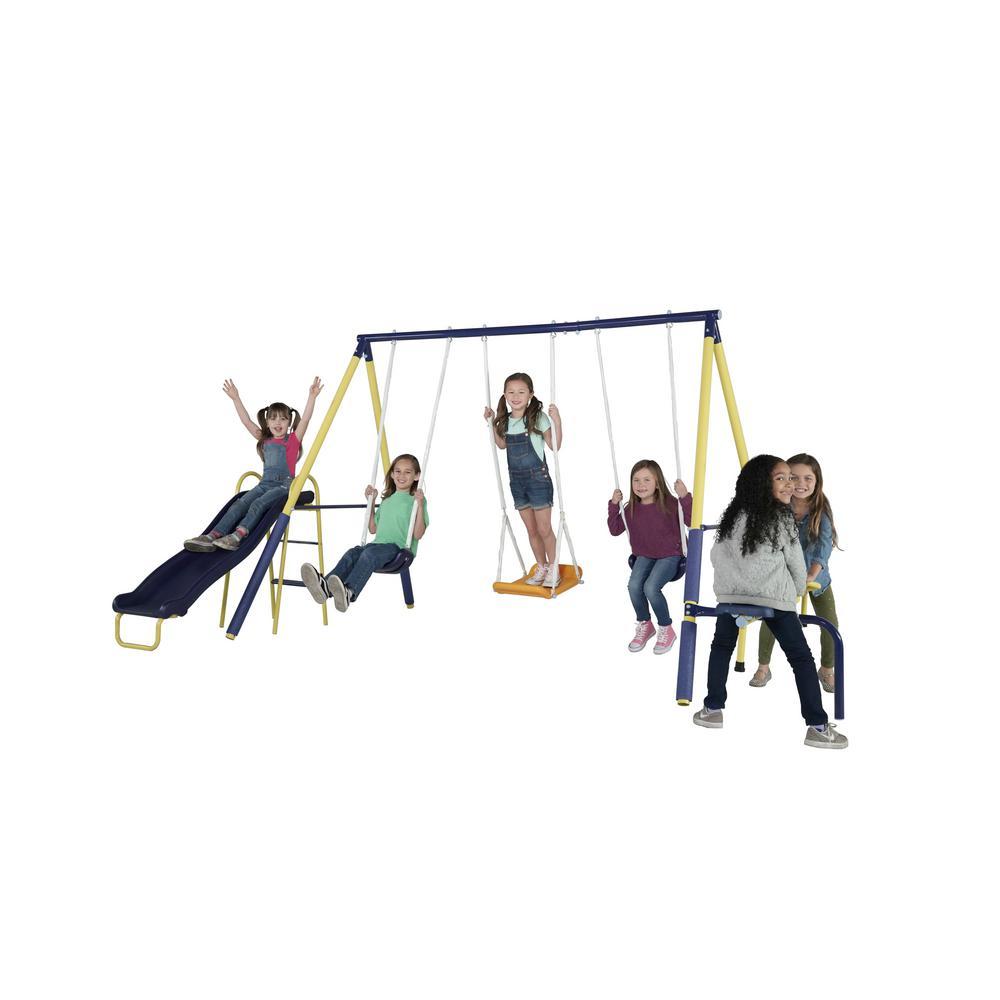 Sportspower Palmview Backyard Swing Set