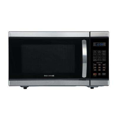 Professional 1.1 cu. Ft. 1000-Watt Countertop Microwave Oven in Stainless Steel