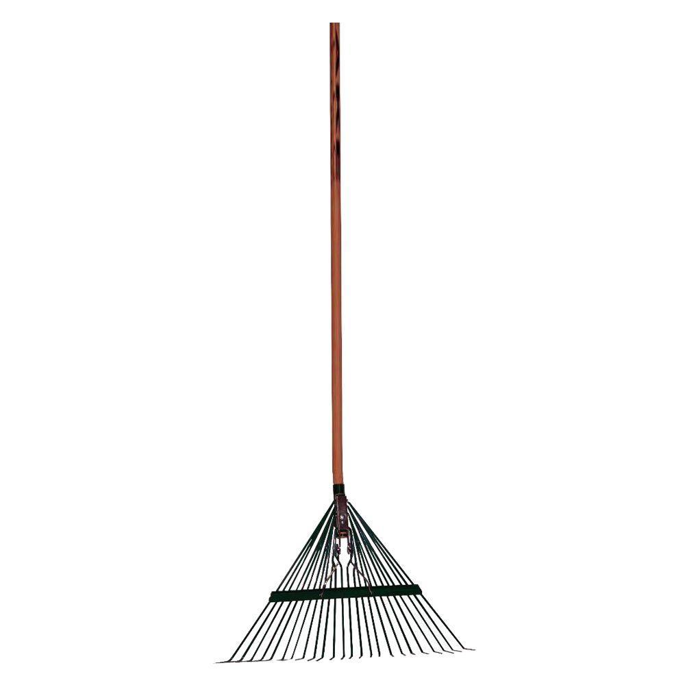 MidWest Rake Company 22-Tine Spring Brace Fan-shaped Rake