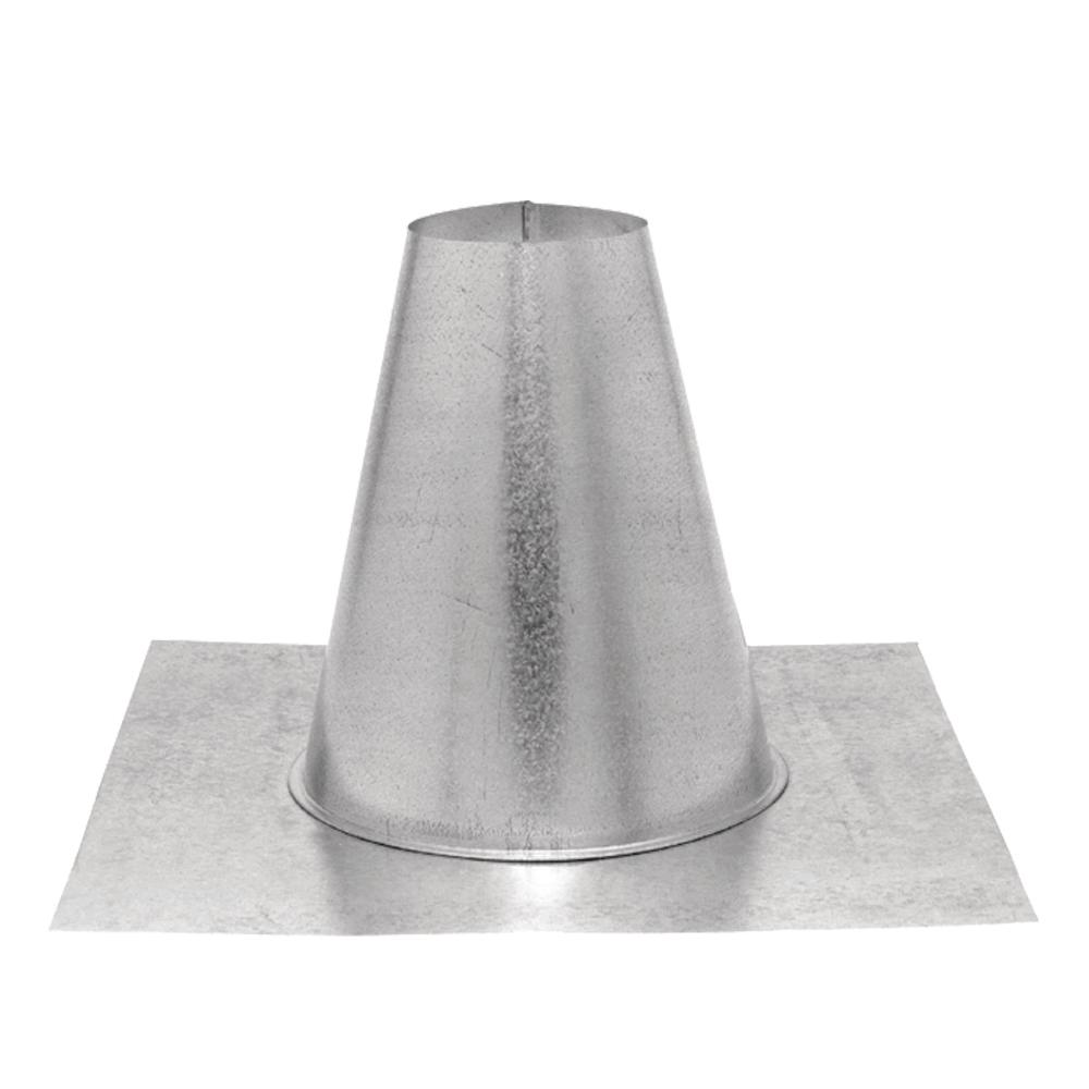 PelletVent 4 in. Tall Cone Roof Flashing