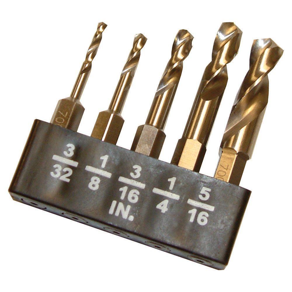 Metal Stubby Bit Set (5-Piece)
