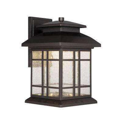 Piedmont Oil Rubbed Bronze Outdoor LED Wall Lantern
