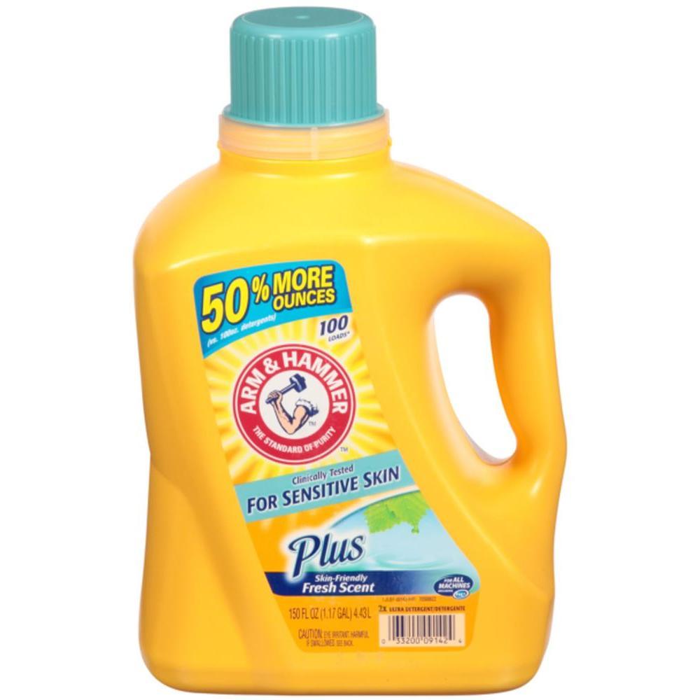 150 oz. Sensitive Skin Plus Scent Liquid Laundry Detergent