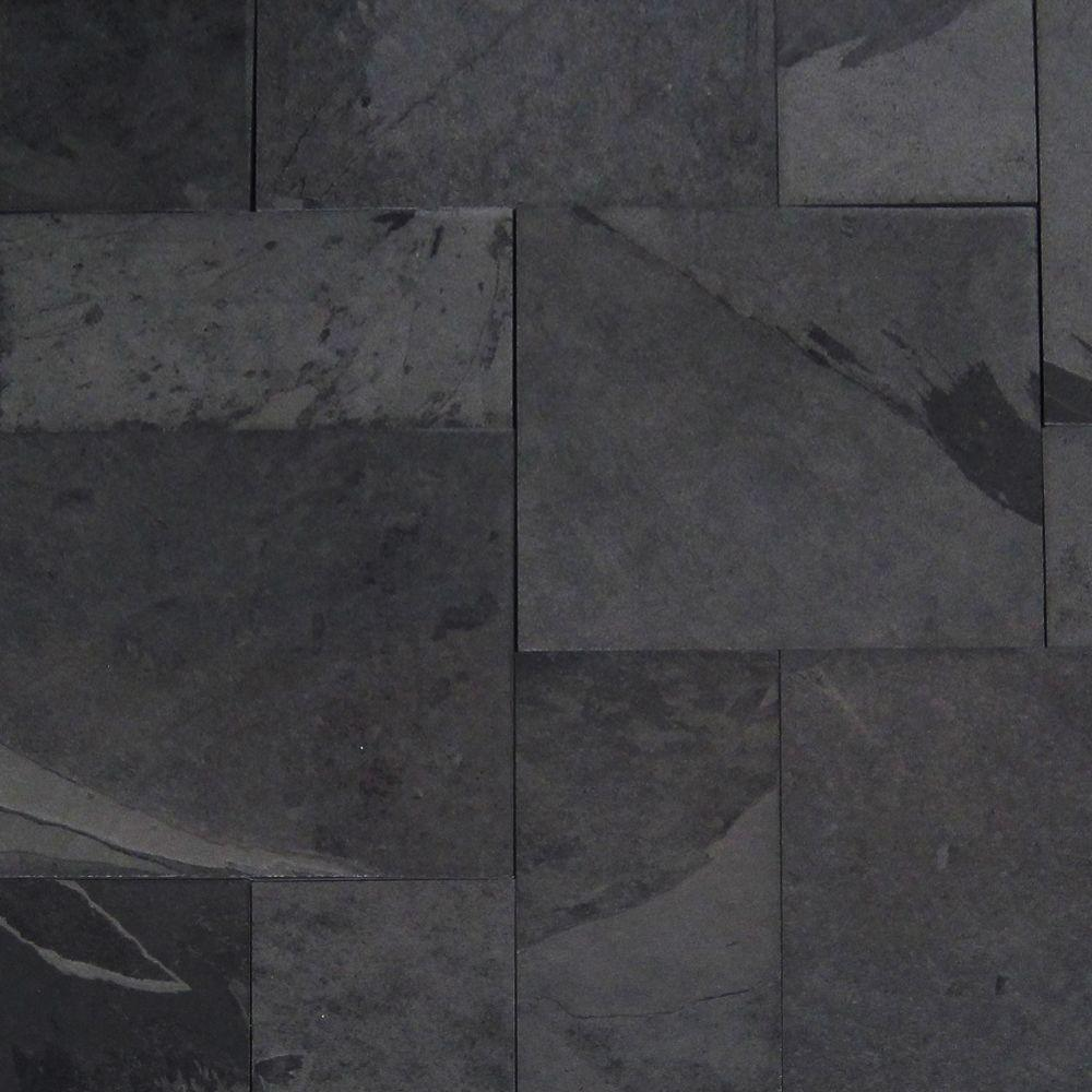 ms hampshire pattern gauged slate floor and wall tile 16 sq ft