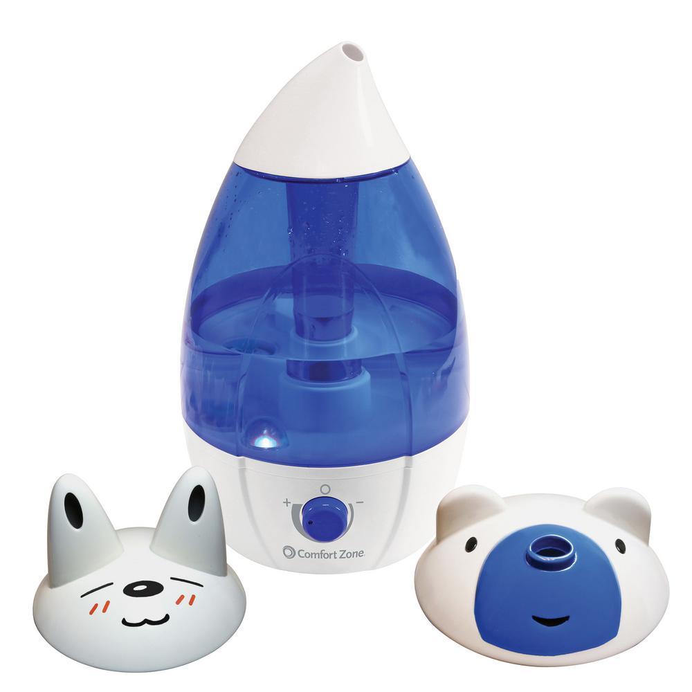1 Gal. Medium Room Ultrasonic Cool Mist Humidifier
