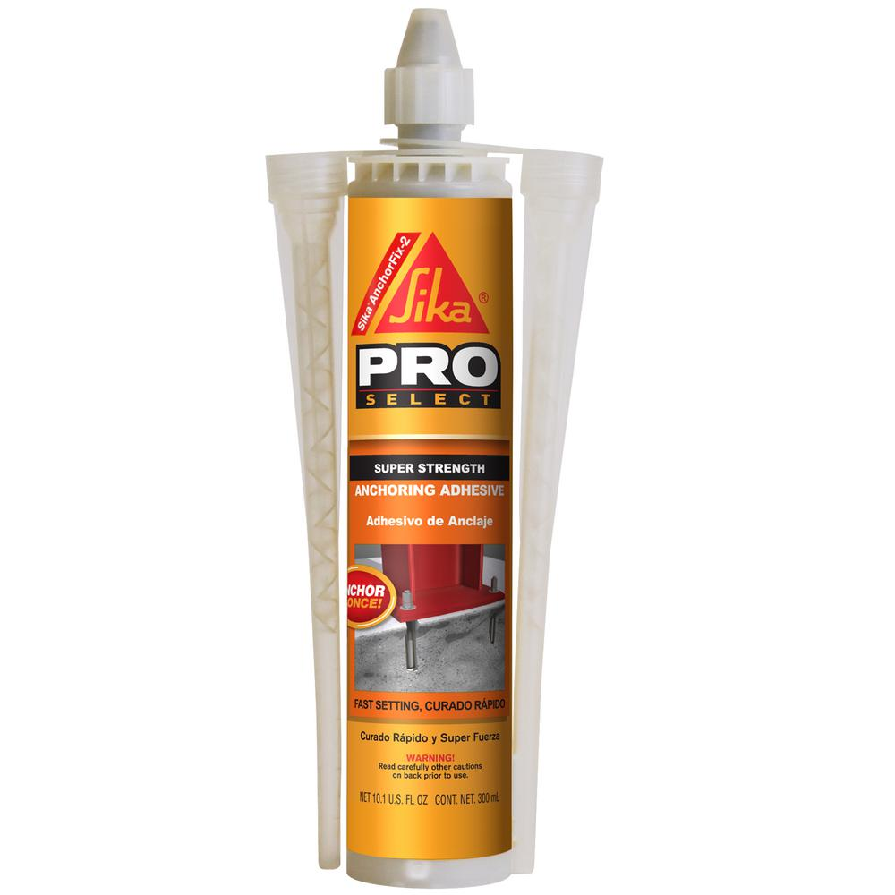 sika 10 1 fl oz anchorfix 2 anchoring adhesive 112718 the home depot. Black Bedroom Furniture Sets. Home Design Ideas
