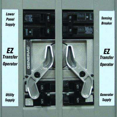 EZ Transfer Operator for the GenReady Load Center
