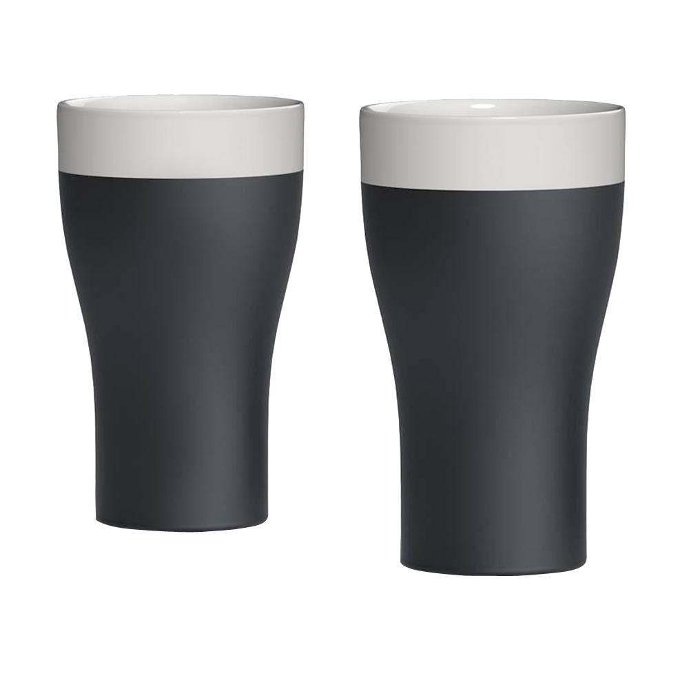 Magisso Naturally Cooling 20 oz  Ceramic Tumblers (Set of 2