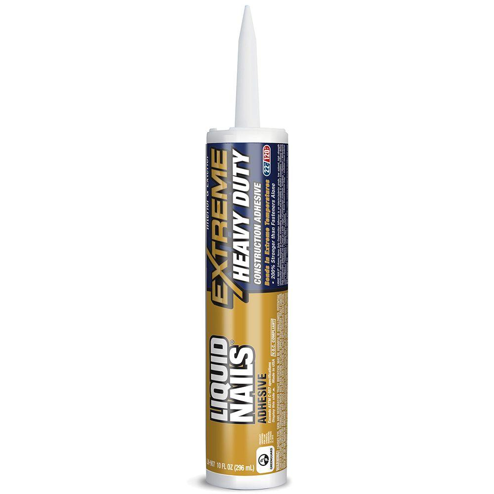 Liquid Nails Extreme Heavy Duty 10 oz. White Interior and Exterior Construction Adhesive