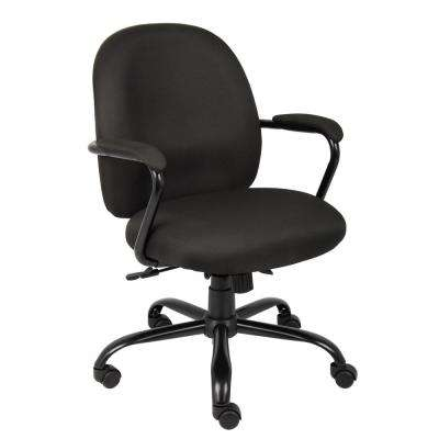 Black Heavy Duty Task Chair