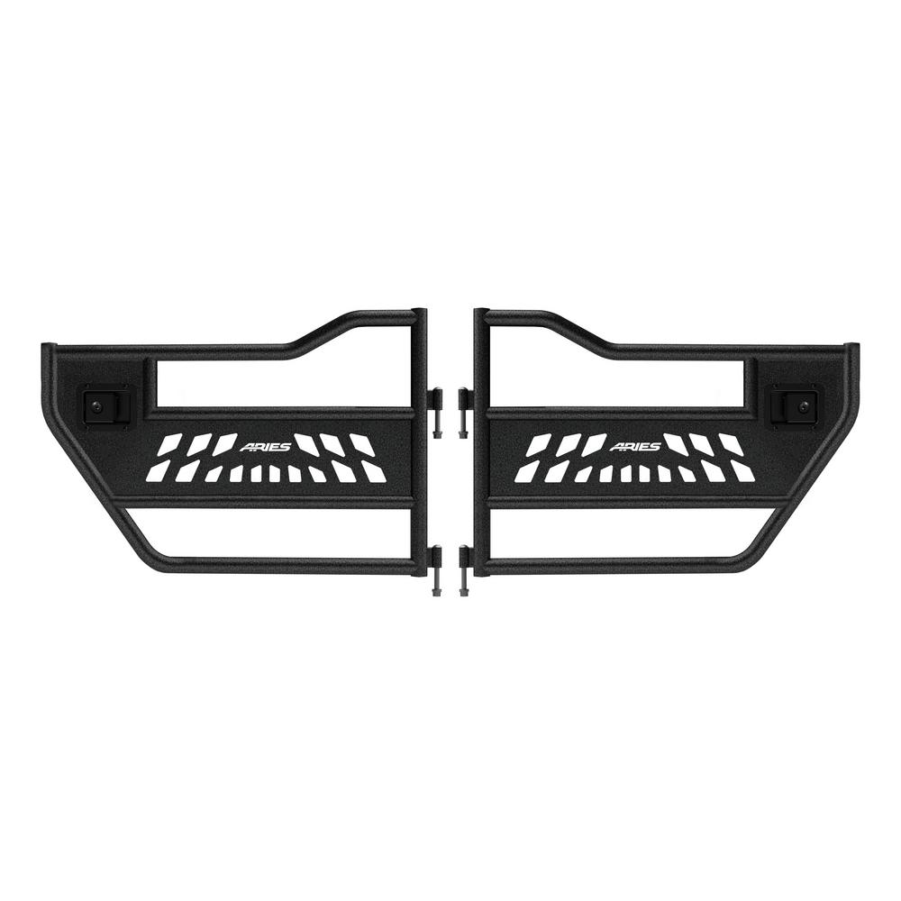 Aries Jeep Wrangler JK Rear Tube Doors