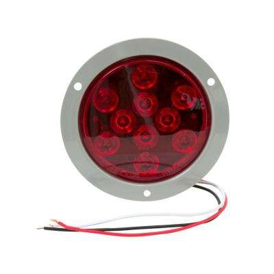 4 in. LED Flange Mount Round Stop/Tail/Turn Light