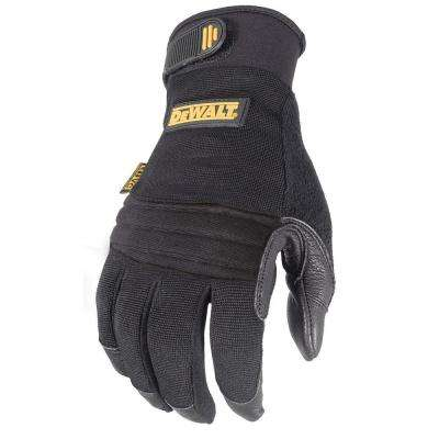 Vibration Absorbing Goatskin Padded Palm Performance Work Glove - XL