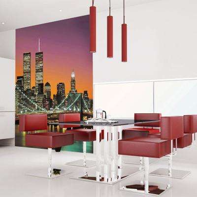 72 in. H x 100 in. W New York City Wall Mural