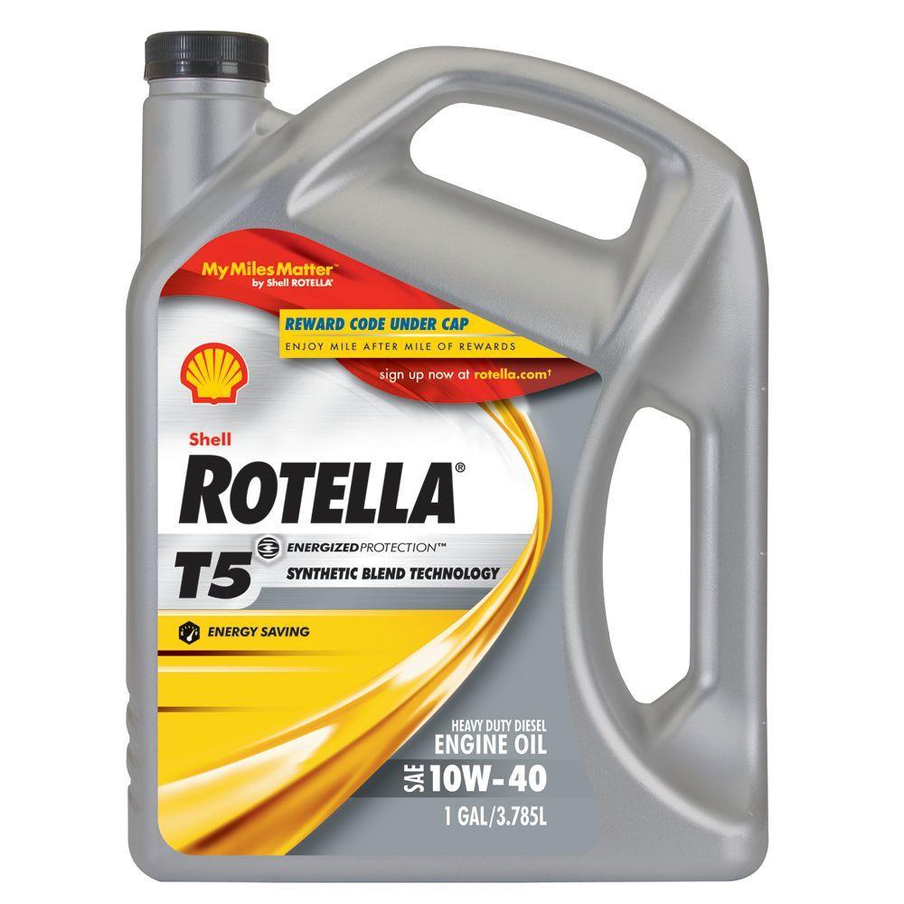 ROTELLA 128 fl  oz  10W40 Motor Oil