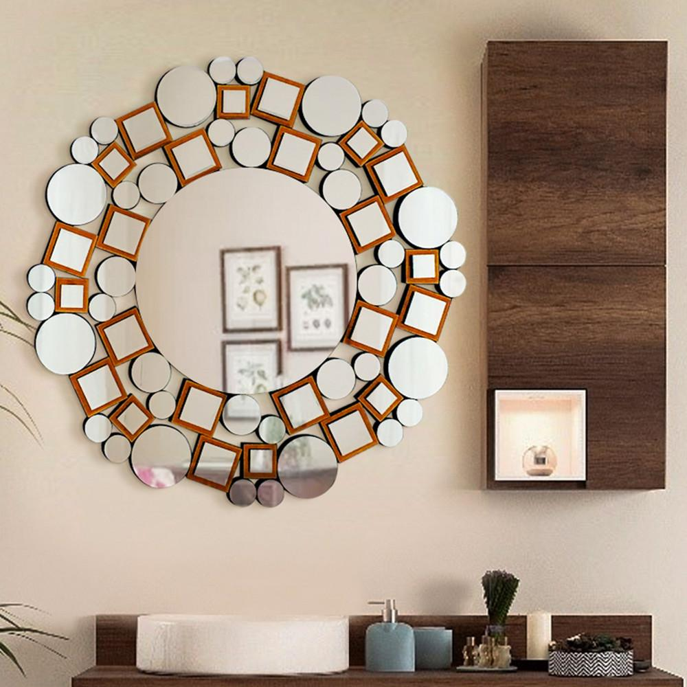 Fab Glass and Mirror 31.5 in. L x 31.5 in. W Handmade ...