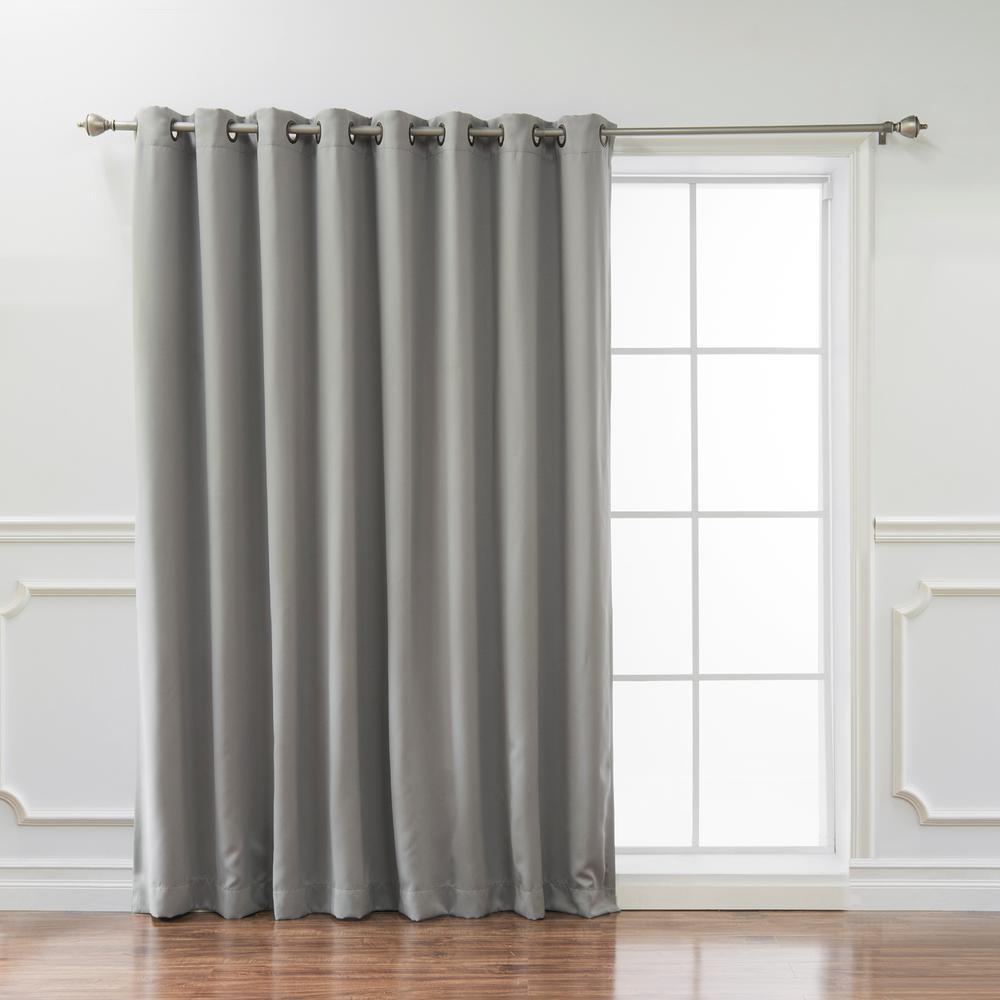 L Blackout Curtain In Dove