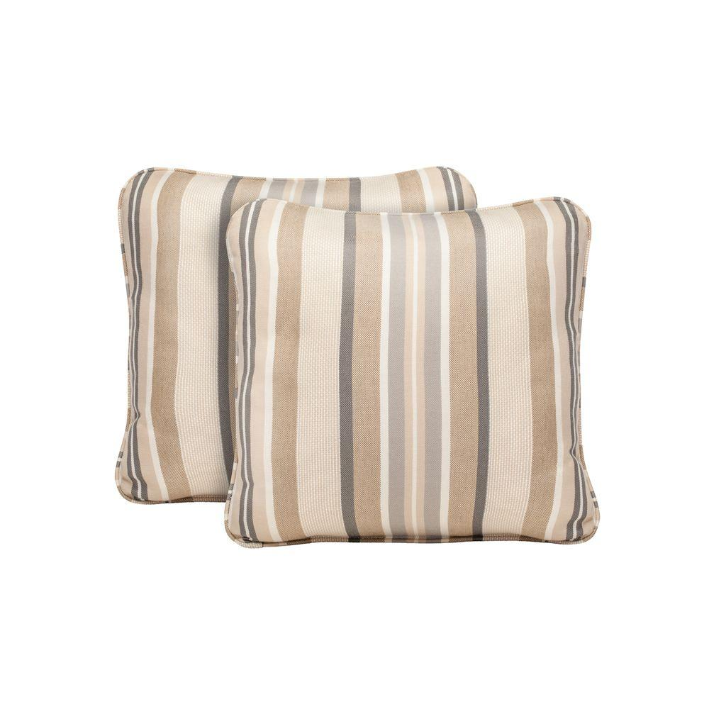 Northshore Terrace Lane Outdoor Throw Pillow (2-Pack)