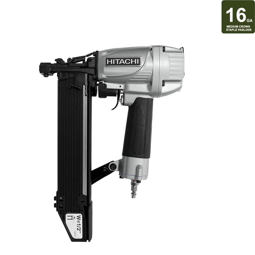 Hitachi 2 in. x 16-Gauge Medium 1/2 in. Crown Stapler