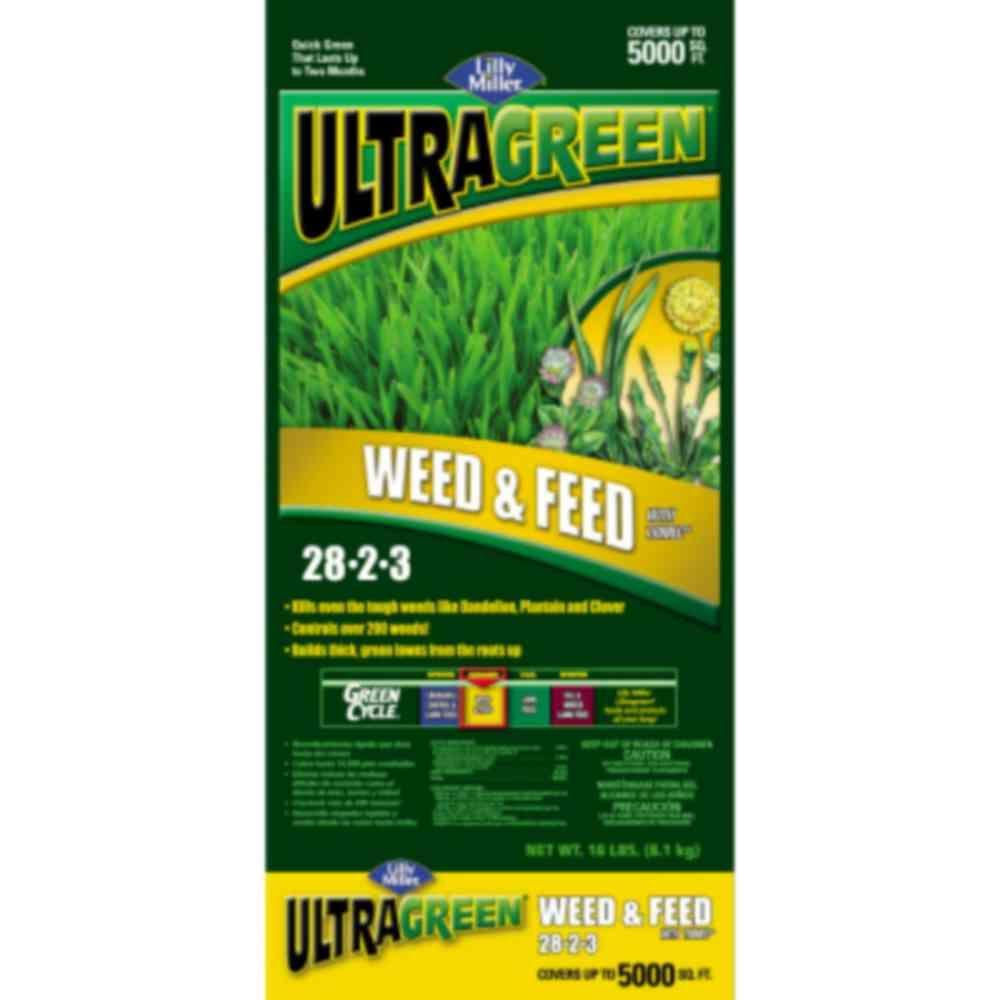 UltraGreen 18 lb. Lilly Miller Mini Weed and Feed