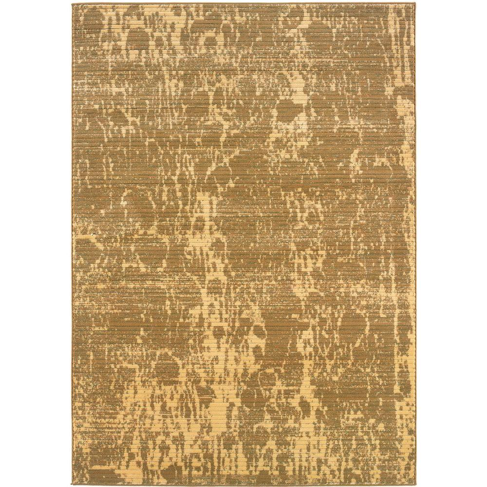 Contemporary Cream and Berber 9 ft. 2 in. x 12 ft.